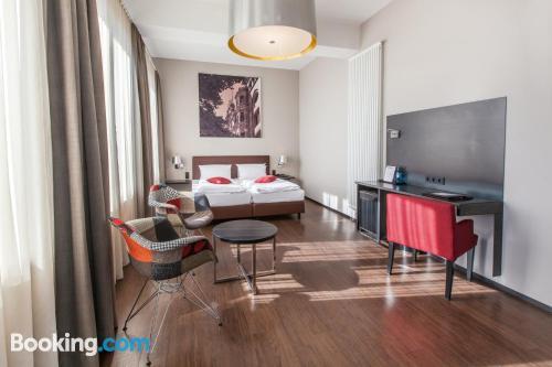 Apartamento con conexión a internet. ¡Perfecto!