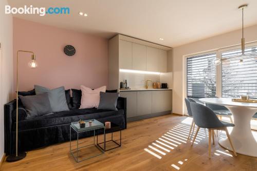 Gran apartamento de dos dormitorios con calefacción