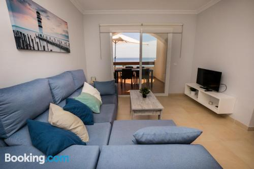 Apartment in Torrox Costa with terrace!.