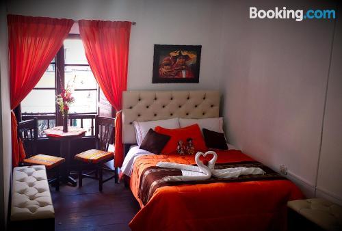 Apartamento en Cusco con terraza.