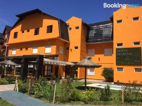 Apartamento en miniatura en Villa Gesell con terraza