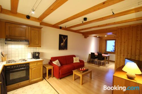1 bedroom apartment in Leysin. Animals allowed!