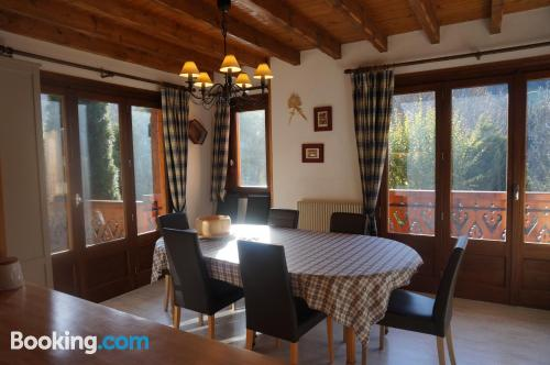 Home in Morzine. Perfect for six or more