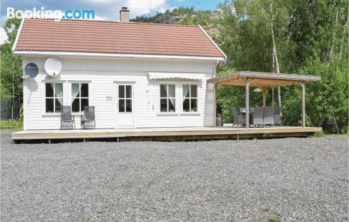 Home for families in Lyngdal. Comfy!