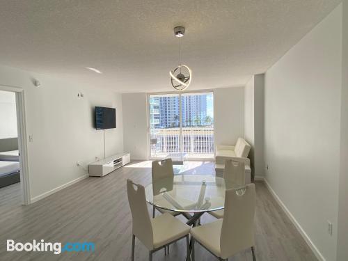 Cómodo apartamento en Miami.