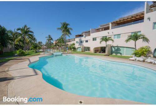 Apartamento con terraza en Acapulco.