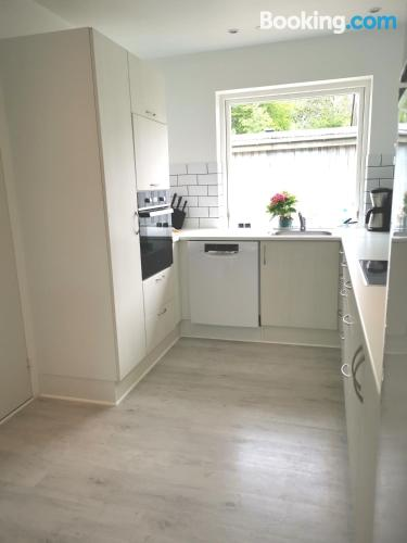 Baby friendly apartment in Bindslev. Large!.