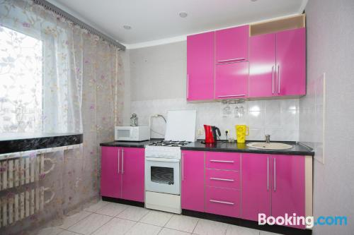 One bedroom apartment in Belgorod with heating