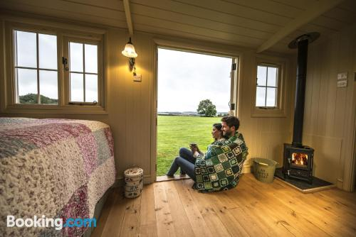 Home for two people. New Alresford from your window!