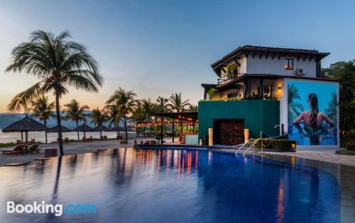 Apartamento con vistas y internet en Zihuatanejo y piscina