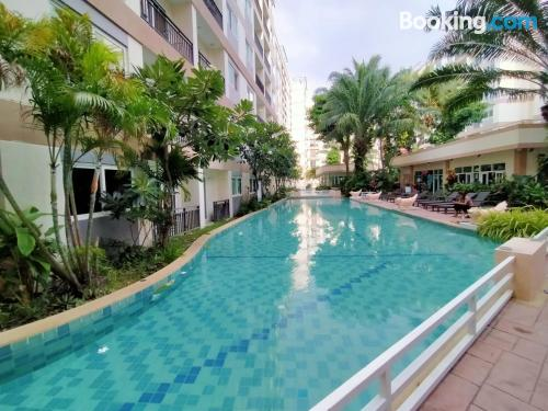 Home for 2 in Jomtien Beach. Be cool, there\s air!