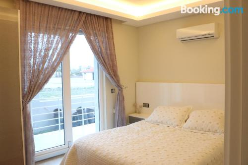 Stay cool: air-con home in Dalyan with pool