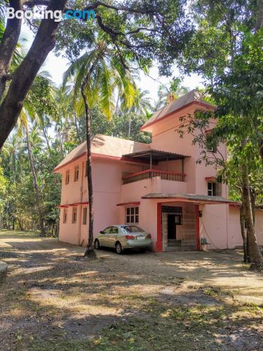Animals allowed apartment in Alibaug ideal for groups.