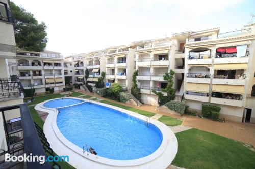 Alcossebre central location! With terrace
