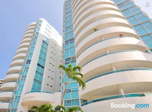 Gran apartamento en Cartagena de Indias. ¡Ideal para cinco o más!