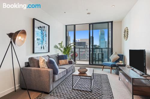 Apartamento de 110m2 en Melbourne con terraza