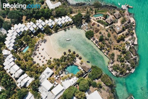 Gran apartamento en Cap Malheureux para parejas