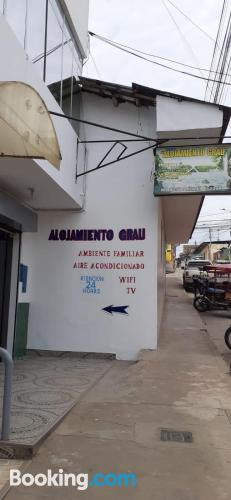 Place with wifi in Tarapoto.