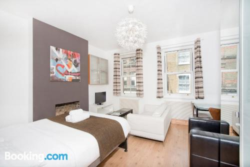 Place in London with heating