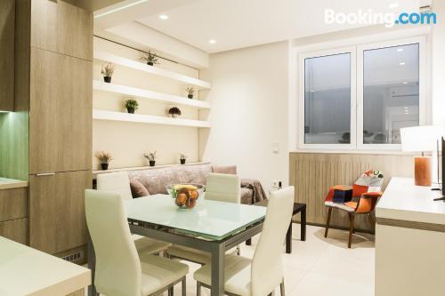 Apartamento de 40m2 en Atenas con internet.