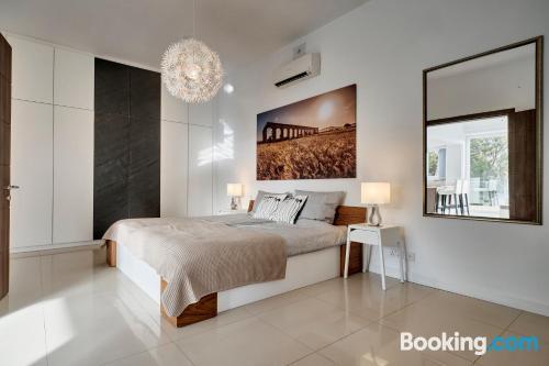 Apartamento para parejas en Xlendi con vistas y internet