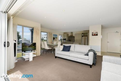 Two rooms place in Tauranga.