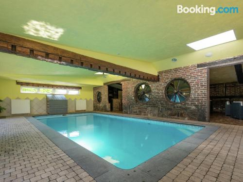 Apartment with swimming pool. Convenient for six or more