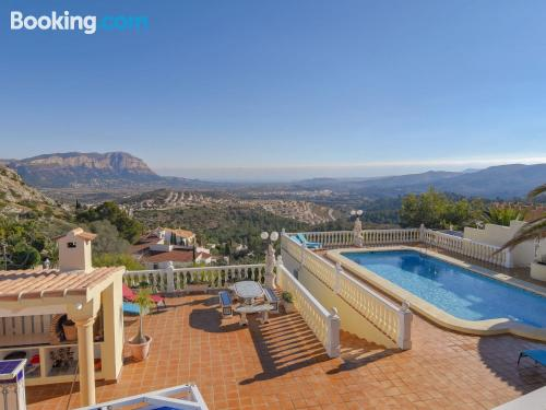 400m2. Massive apartment. Enjoy your pool in Pedreguer!