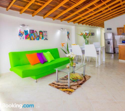 Apartamento con internet ideal para cinco o más