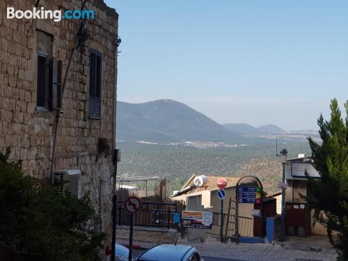 85m2 apartment in Safed ideal for groups.