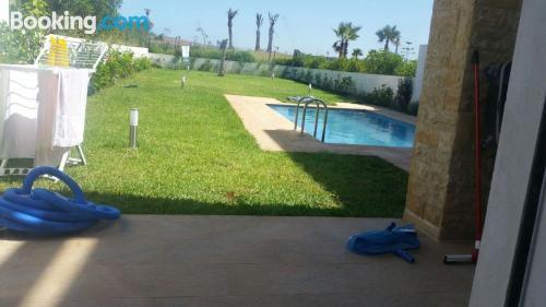 Terrace! in Sidi Bouqnadel.