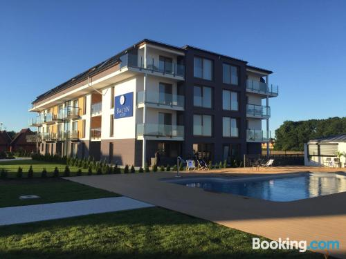Swimming pool and wifi home in Sarbinowo in incredible location