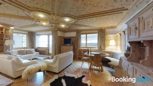 Apartamento de 130m2 en Sankt-Moritz. ¡Ideal para cinco o más!