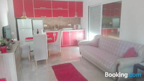1 bedroom apartment apartment in Tivat with air-con.