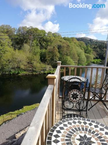 Place in Glengarriff with terrace and wifi.