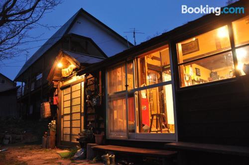 Place with wifi in Otaru.