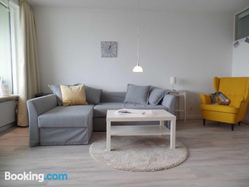 Apartamento para dos personas en zona centro de Sierksdorf
