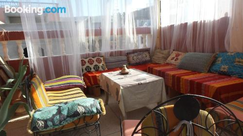 Place for couples in Tamraght Ou Fella with terrace!.