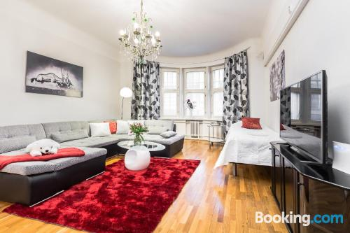 Apartment for two people with heating