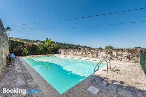 Apartamento en Caminha con piscina