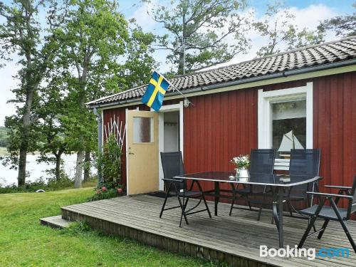 One bedroom apartment in Lysekil with terrace