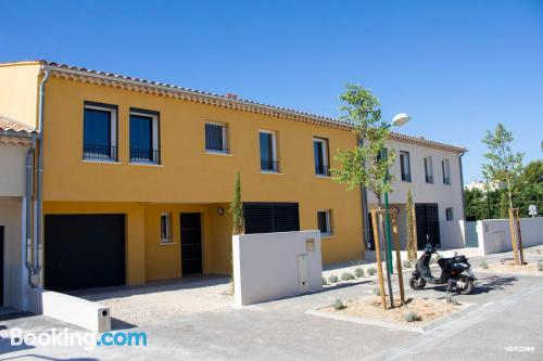 Apartment in La Fare-les-Oliviers. For two.