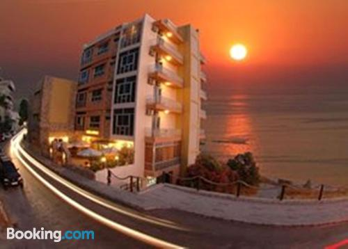 Apartment in Jbeil with heat and internet