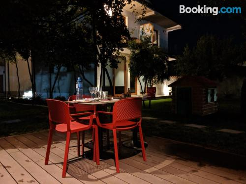 Place for two people in Podgorica. Terrace!.