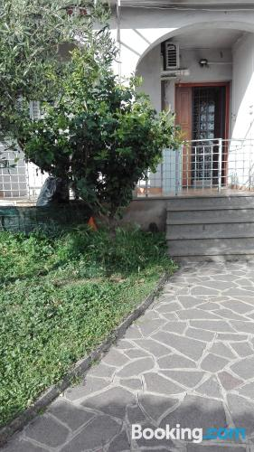 Place with terrace in Rome.