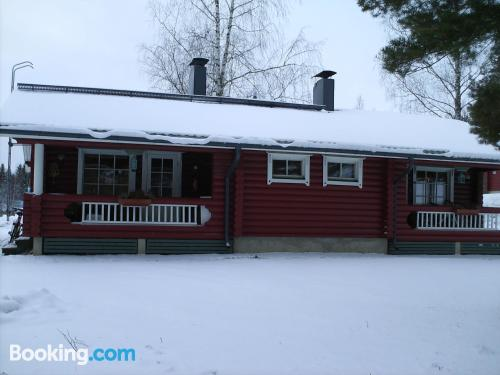 Home in Punkaharju with terrace!.
