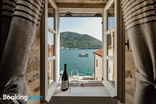 Little home in Perast with terrace.