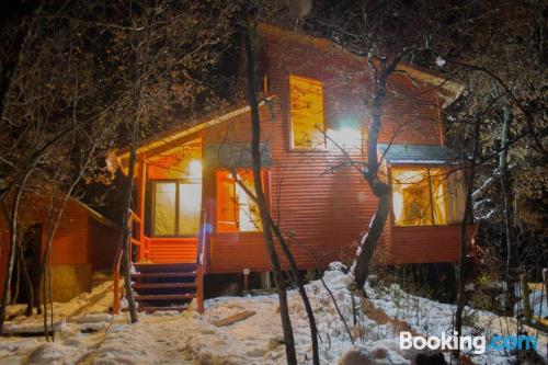 Apartamento en Nevados de Chillan con terraza