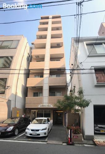Stay in Hiroshima in center