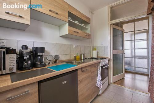 Apartamento de una habitación en Budapest.